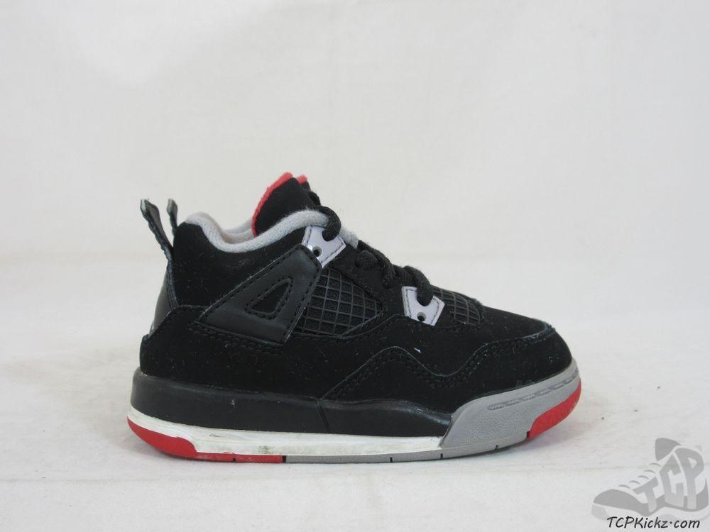 02991cb1ab6b48 Vtg OG 2012 Nike Air Jordan IV 4 s sz 6.5c Mars Blackmon Retro Fire Bred  Thunder  Jordan  Athletic  tcpkickz