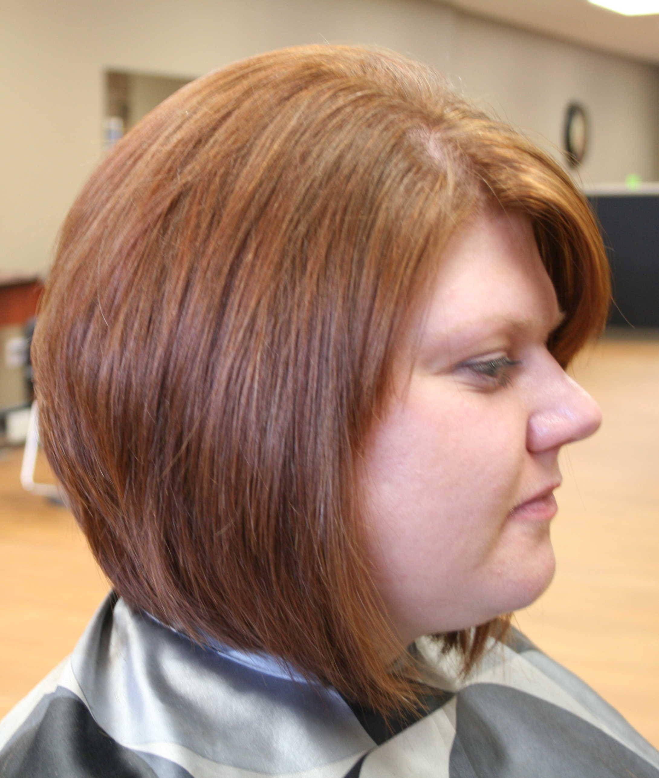 Frisuren a line bob