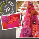 Fabulous Idea No. 79 - Cover inexpensive boxes with fabric in bright colors