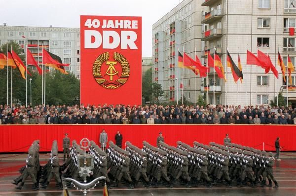 Bildresultat för military parade ddr