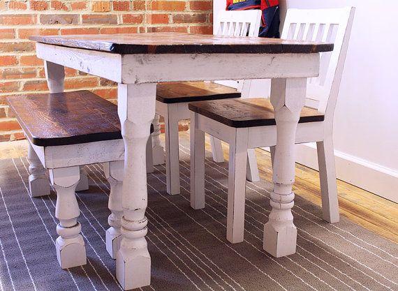 Kids Farm Table Set Kids Table Set Child Table Set Farmhouse Table Set Kids Bench Kids Chair Dist Diy Kids Table Kids Table Set Kitchen Table Centerpiece