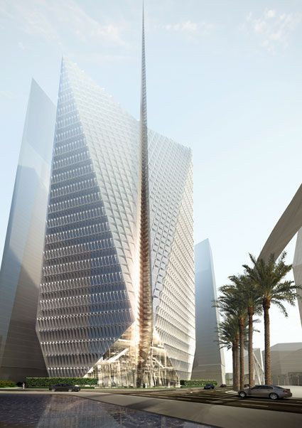 Woods Bagot - Saudi Arabia Bank Headquarters, Riyadh