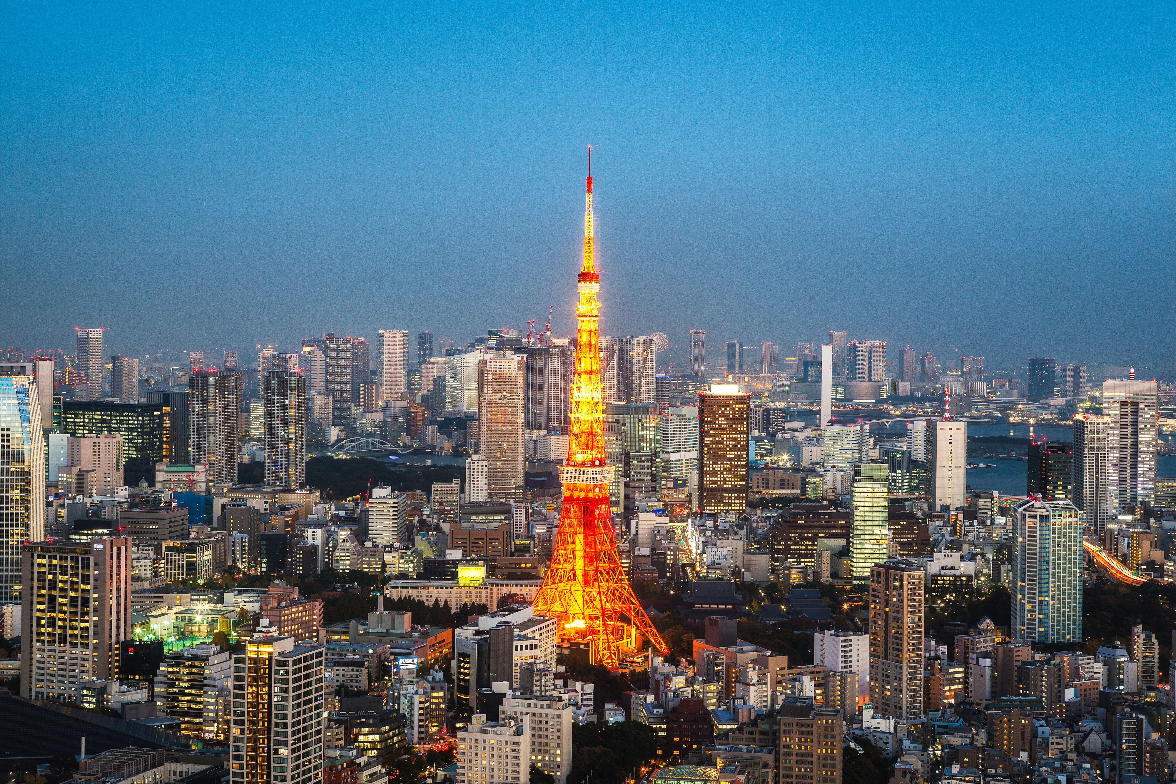 Tokyo Skyline Wallpapers For Android Tokyo skyline