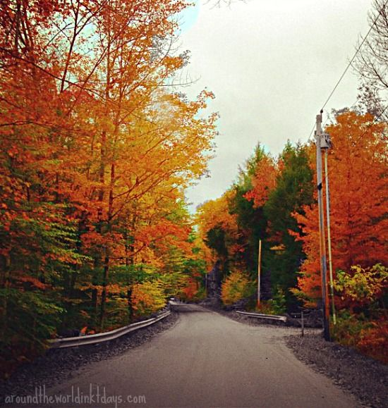The colors in Vermont are nothing short of amazing