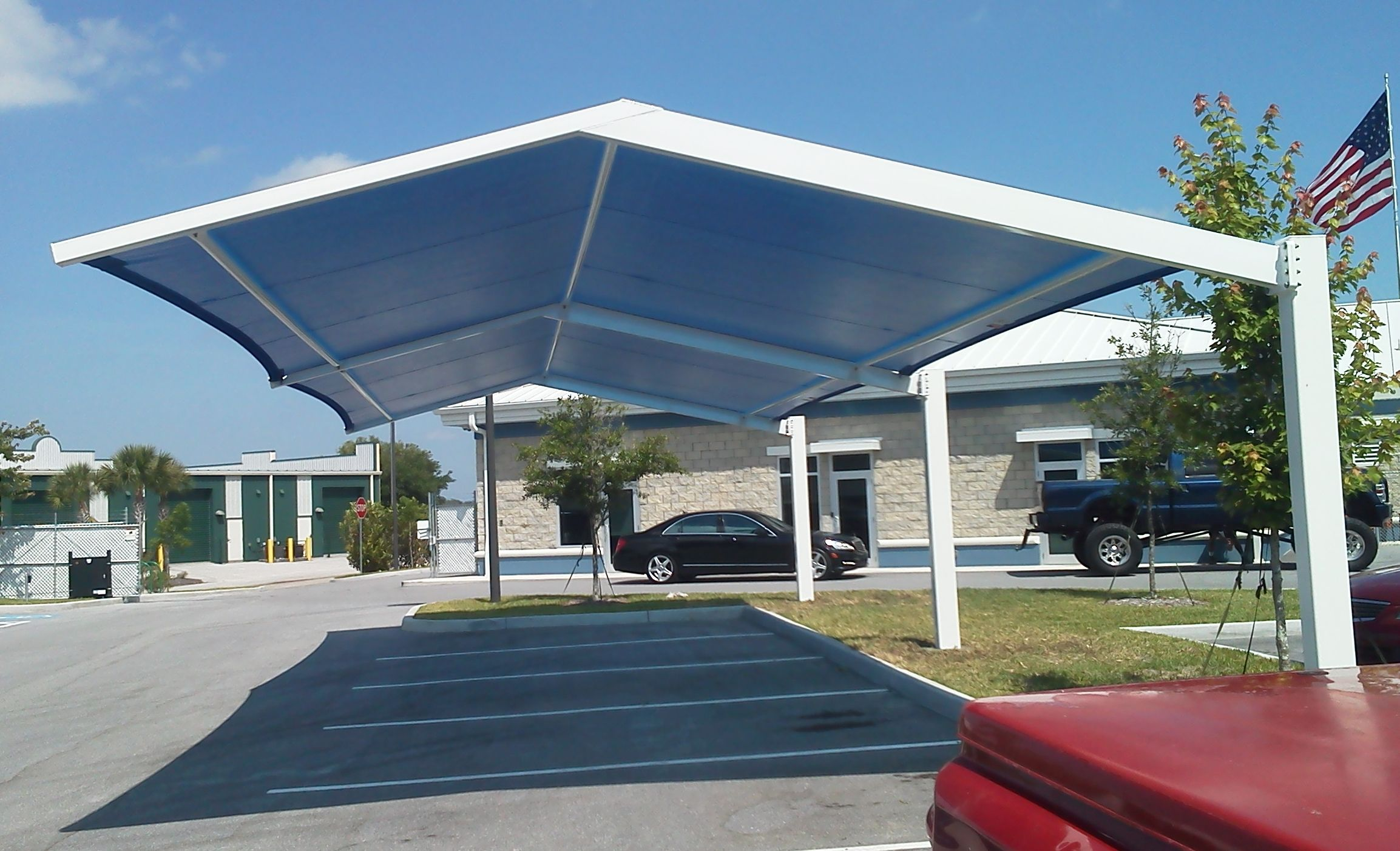 Cool Outdoor Parking Lot Patios