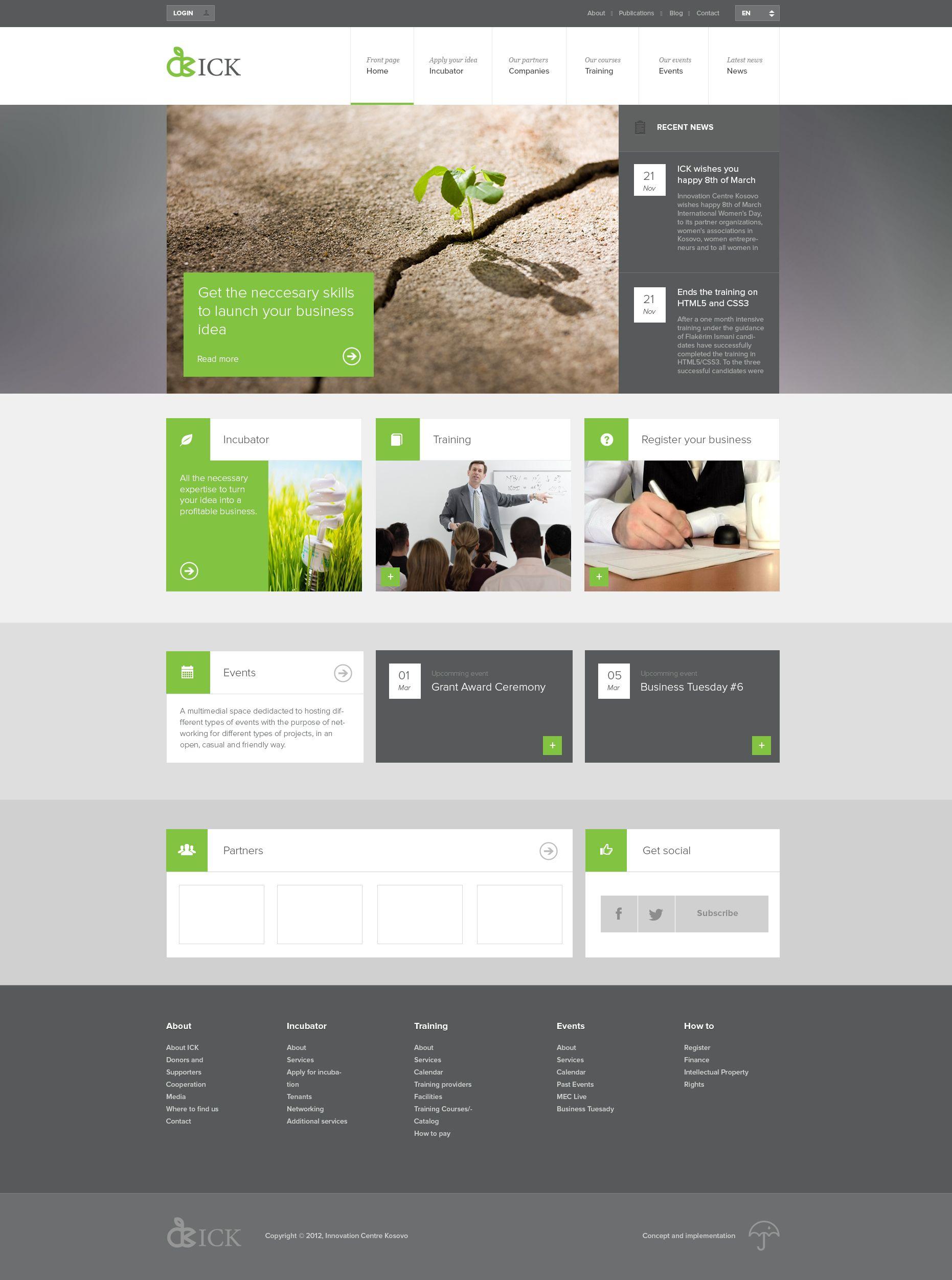Tiled Layout Website Layout | Web Design | UI Design: Web ...