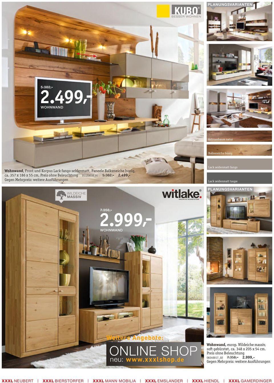 Meer dan 1000 ideeën over Wohnwand Buche op Pinterest - Tv ...