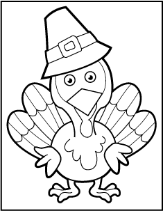 Thanksgiving Coloring Pages | 303x235