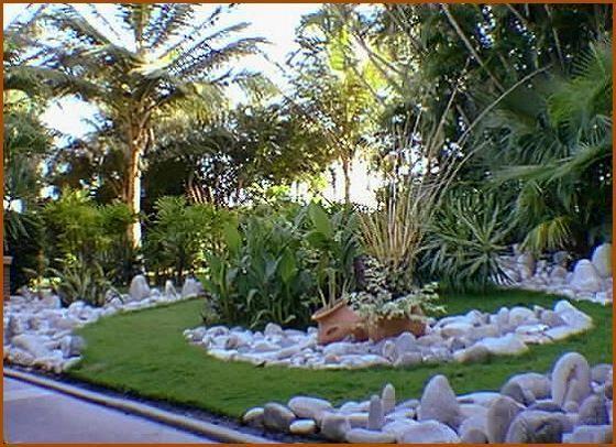 Jardines modernos con tinajas google search - Jardines modernos ...