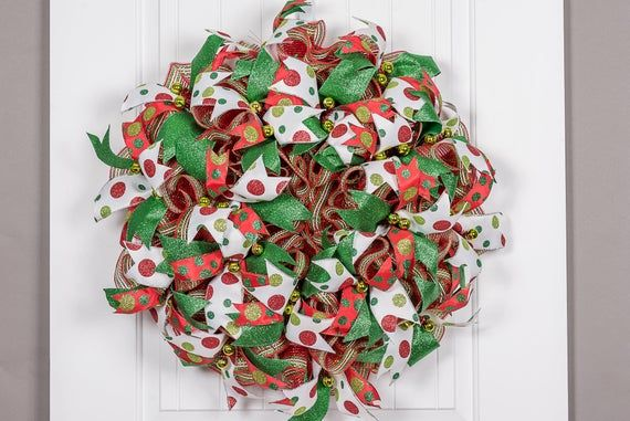 Double Door Christmas Wreaths, Double Door Wreaths, Front Door, Christmas Decor, Simple Wreath, Holi #doubledoorwreaths