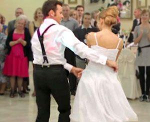 Newlyweds' Swing Dance