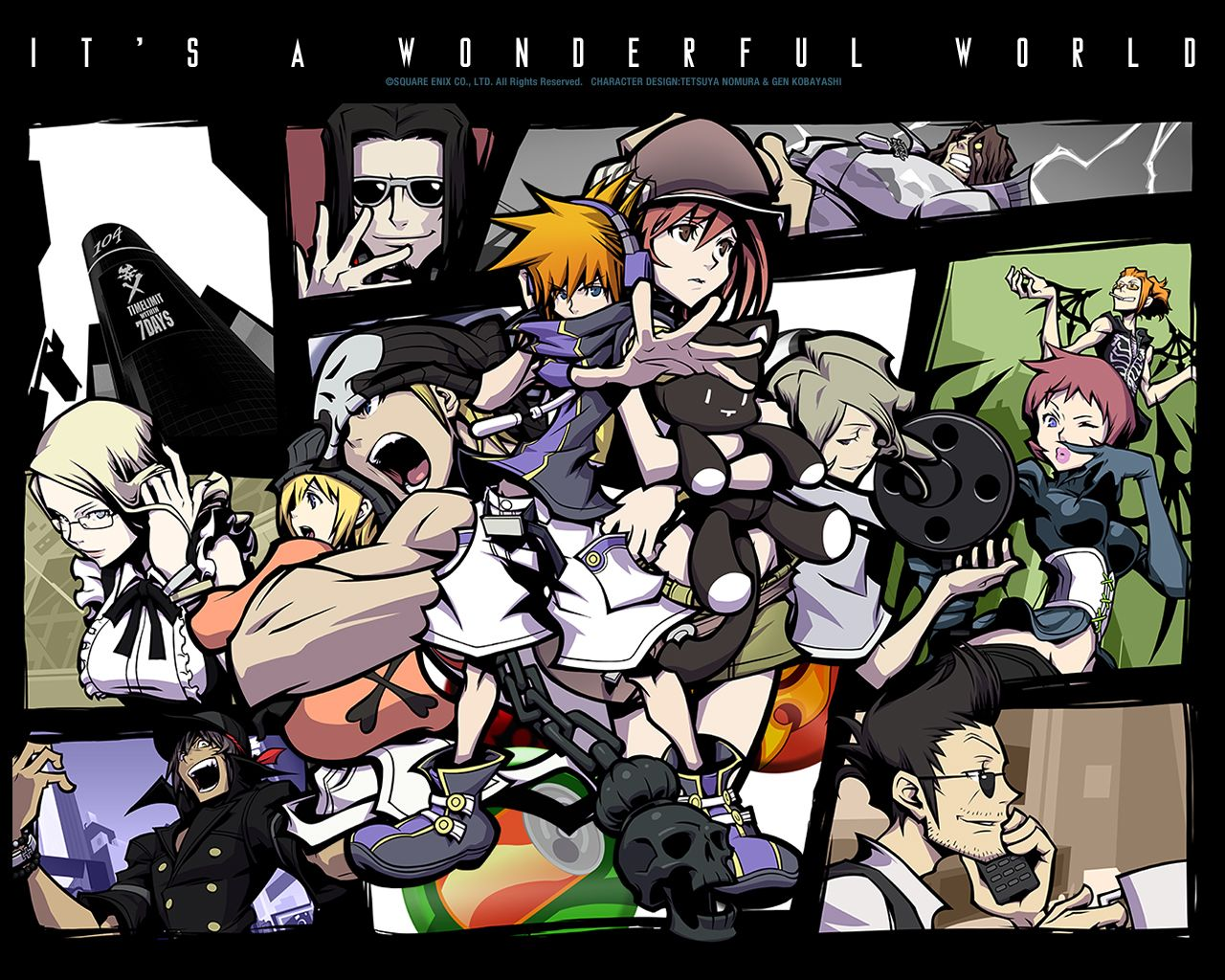 Image result for the world ends with you 2