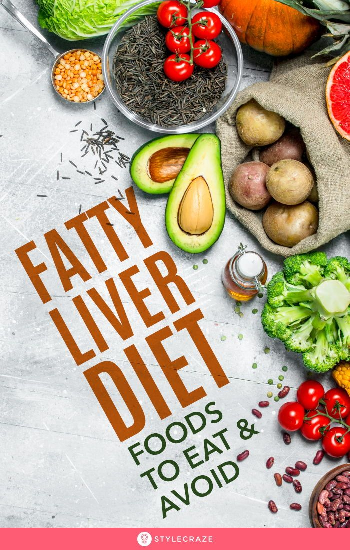 Evidence-Based Fatty Liver Diet – Diet Plan And Foods To Eat And Avoid