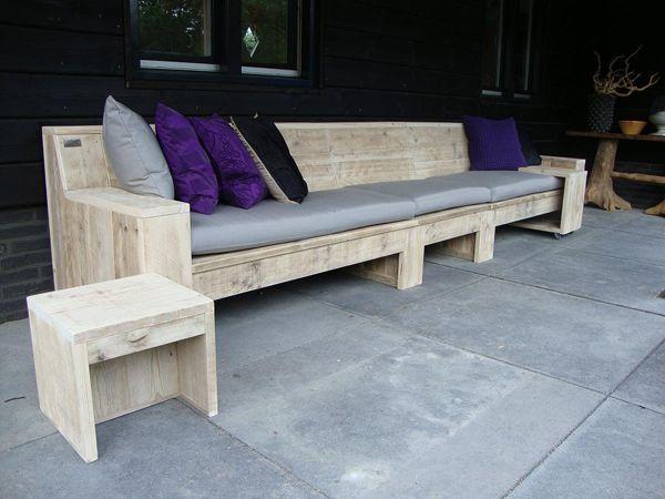Diy Budget Loungebank : Loungebank mandy tuinmeubels backyard furniture