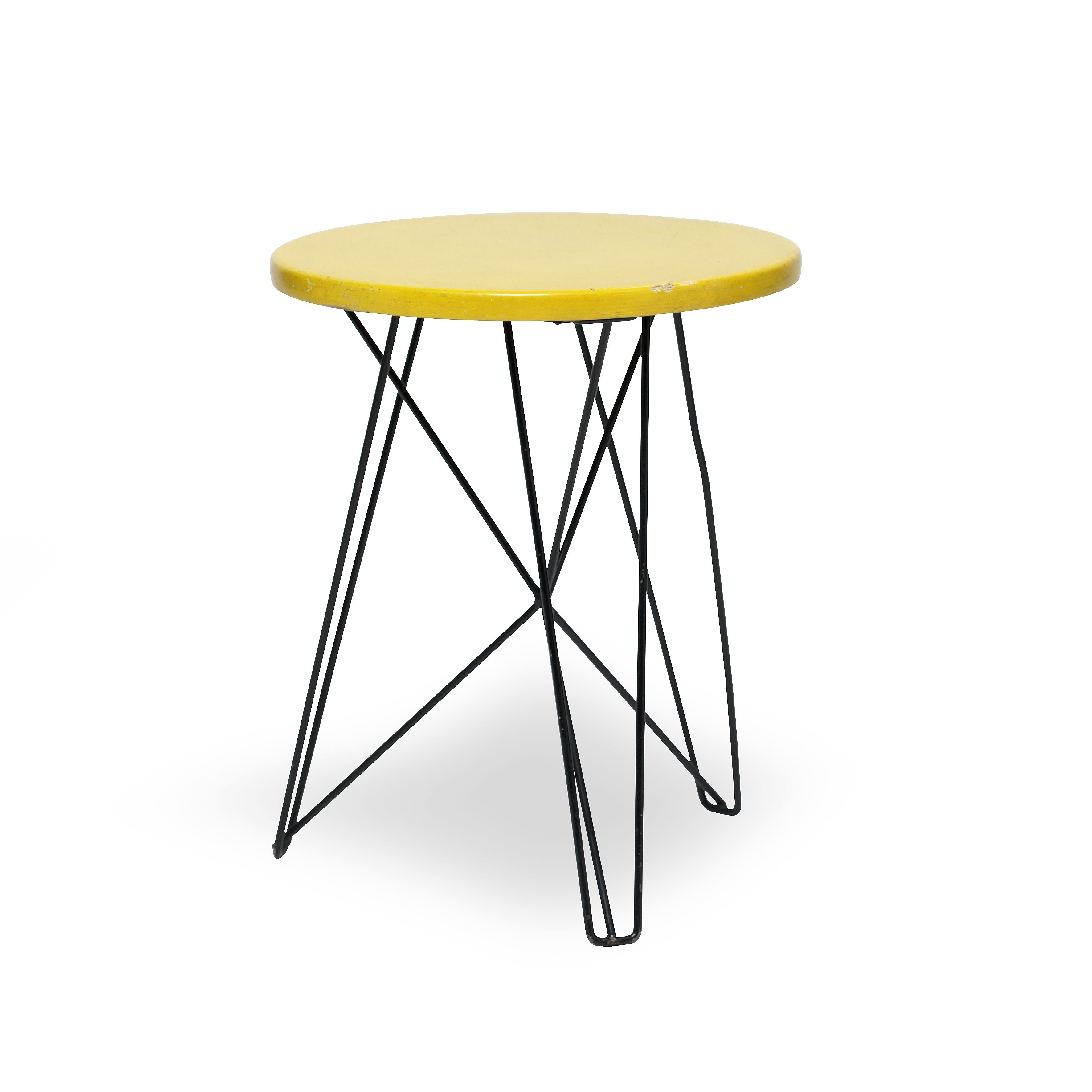 IJhorst side table stool Design Constant Nieuwenhuys 1953 for