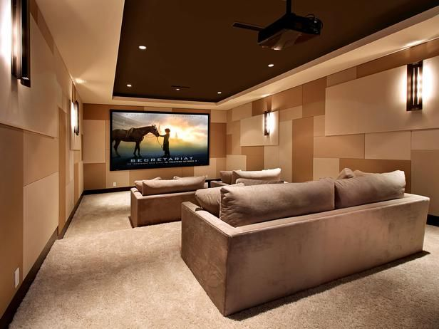 Designed For A Theater Pro In Oscar Worthy Home Theaters From HGTV