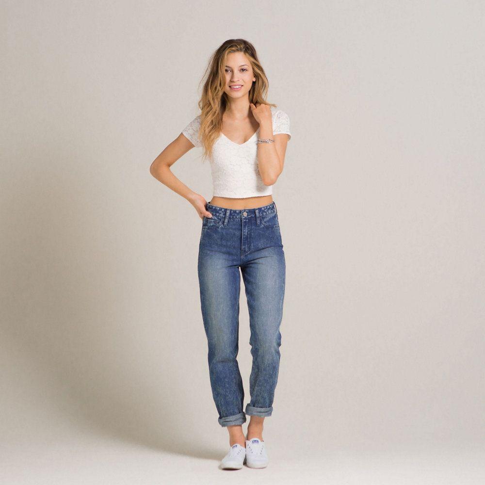 girls hollister devin high rise boyfriend jeans girls