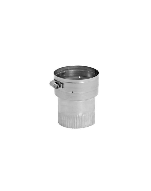 """DuraVent 8VG-S 8"""" Inner Diameter - Ventinox Flexible Liner Chimney Relining - Si Stainless Steel Vent Pipe Flexible Liner Connector"""