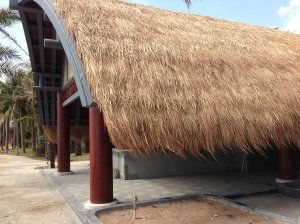 Synthetic Simulation Thatch Roof Tile
