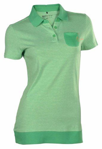 6b6ad84f $47.98 awesome Nike Women's Sport Graphic Novelty Golf Polo Shirt-Green