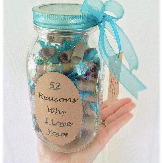 52 Reasons Why I Love You Teal Von Thebumblecomb Auf Etsy Warum