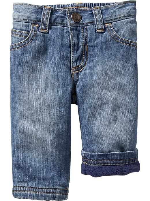 Fleece-Lined Jeans for Baby Product Image