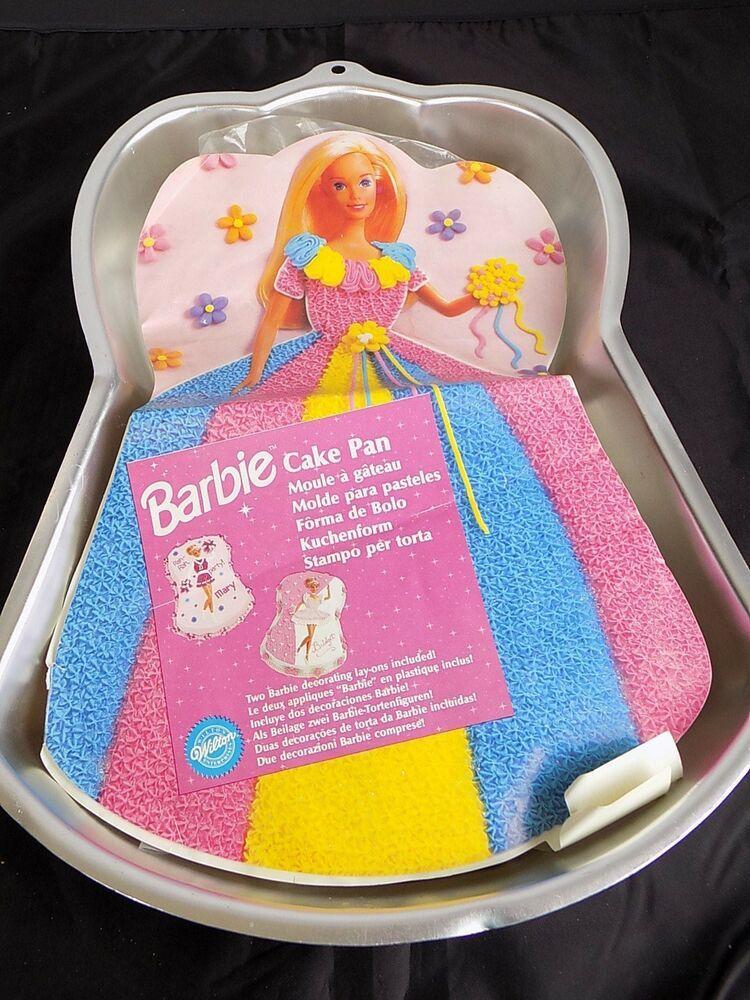 Barbie birthday cheerleader ballerina cake pan insert