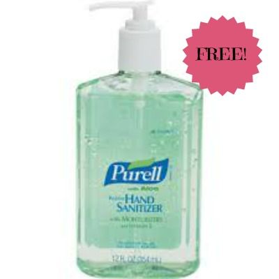 Free Purell Hand Sanitizer 8oz Bottle Only At Target Thru 7