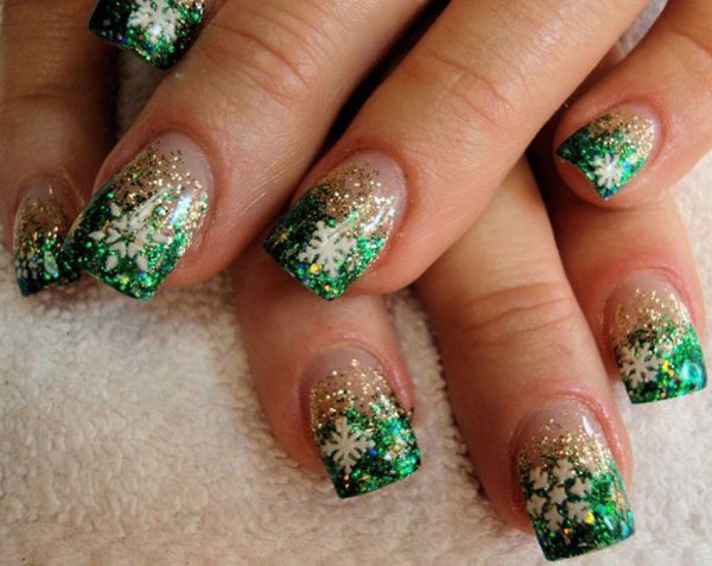 christmas-nails (221). Christmas Nail Art DesignsHoliday ... - Christmas-nails (221) Fingernail Art/ideas... Pinterest Nail