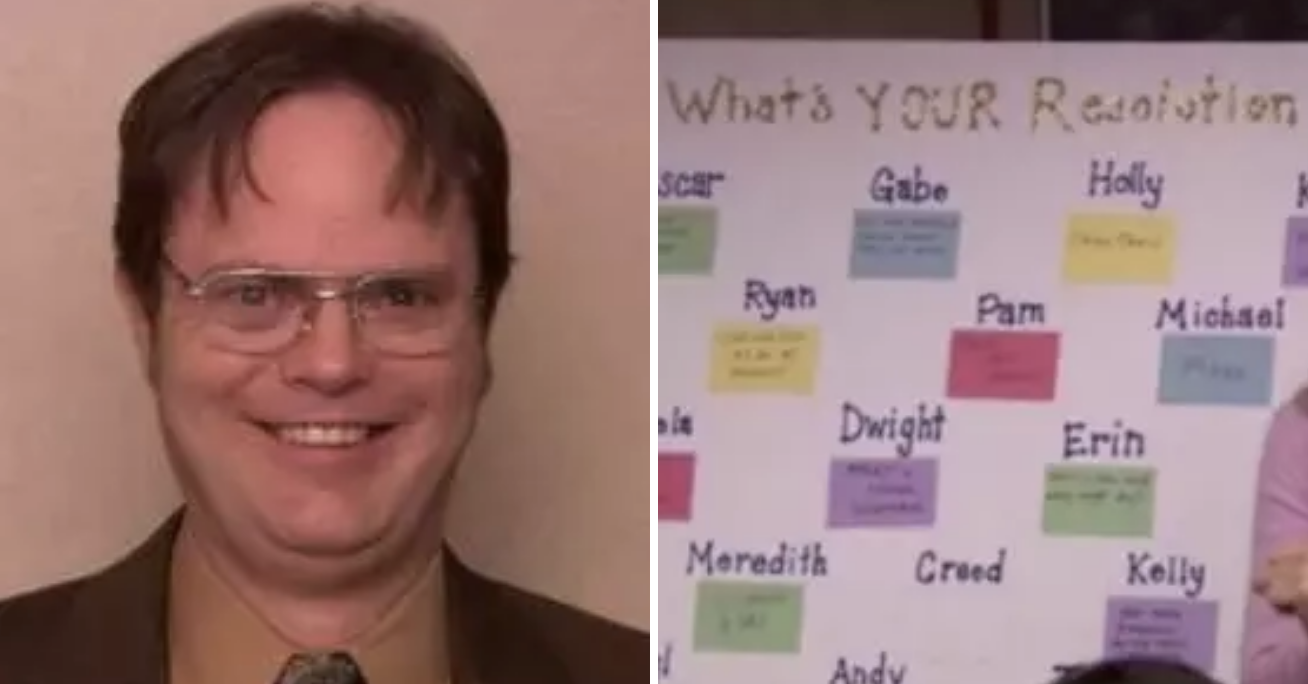 """Can You Match """"The Office"""" Characters To Their New Year's"""