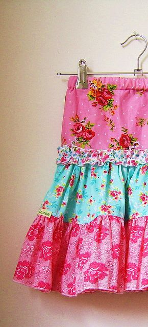 new made skirts  by silly old suitcase via Flickr.
