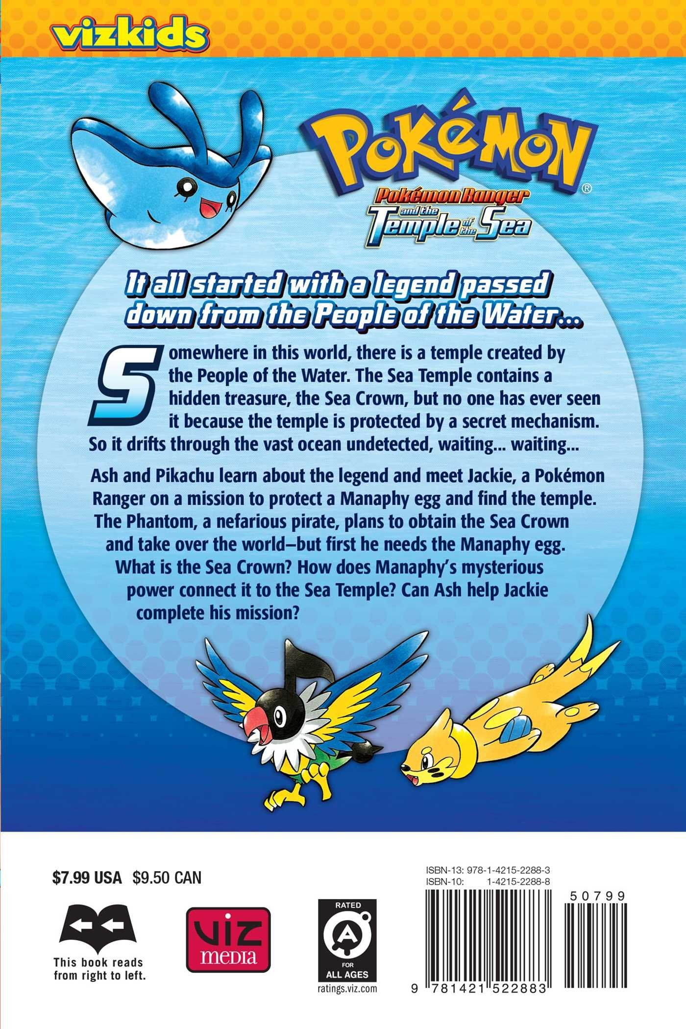 Karikatür Pokemon: Ranger ve Deniz Tapınağı