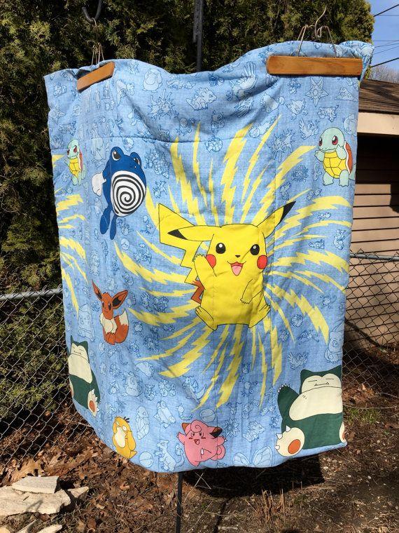 Rare 90 S Pokemon Comforter With Images Comforters Pokemon Rare