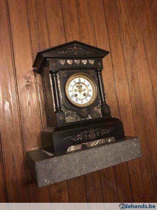 Gebruikt: Marmeren klok in goede staat (Klokken & Barometers) - Te koop voor € 65,00 in Sint-Truiden Zepperen