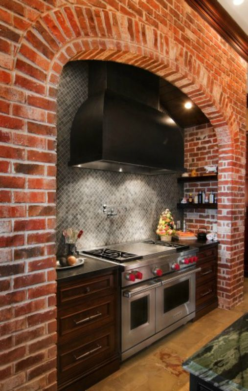 Wolf Range And Hood With 4 To 6 Gas Burners Paired With