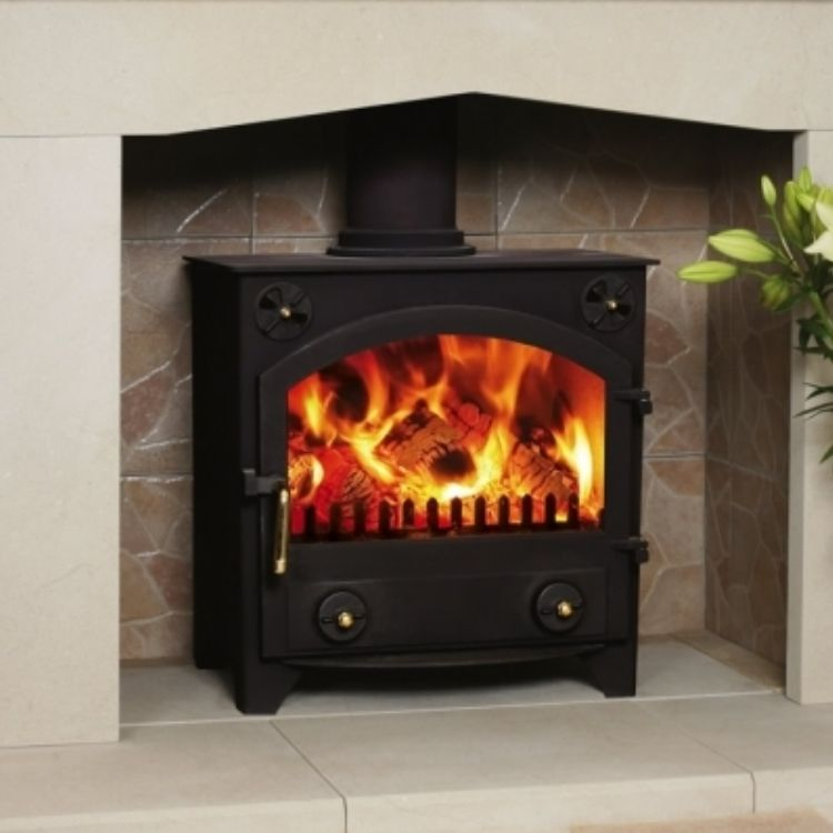 Town and Country Bransdale  #KernowFires #woodburner #contemporary #traditional #cornwall #freestanding