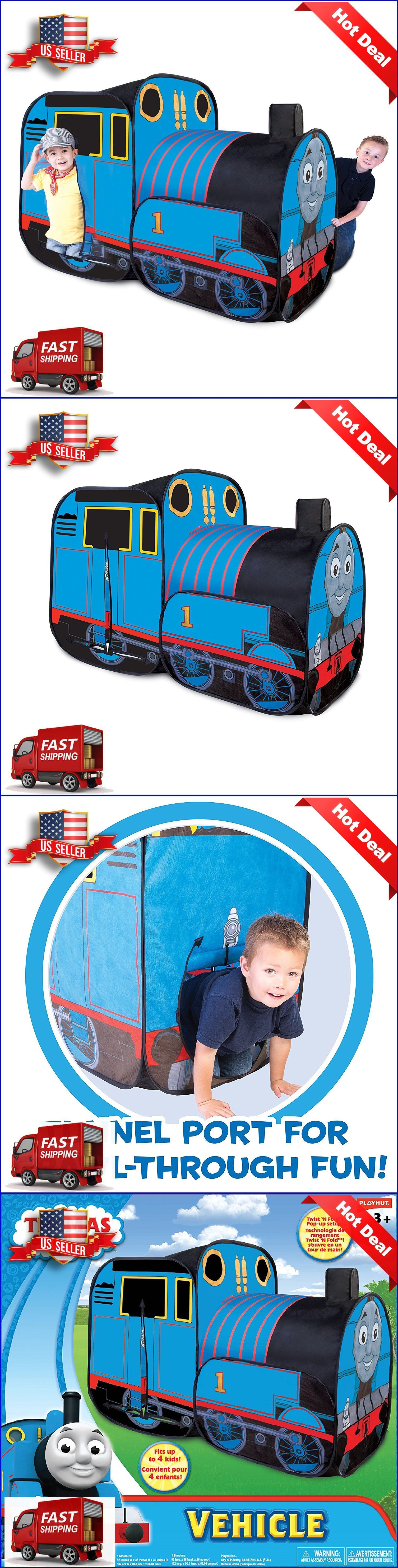 Play Tents 145997 Playhut Thomas The Train The Tank Play Tent Vehicle For Boys And  sc 1 st  Pinterest & Play Tents 145997: Playhut Thomas The Train The Tank Play Tent ...