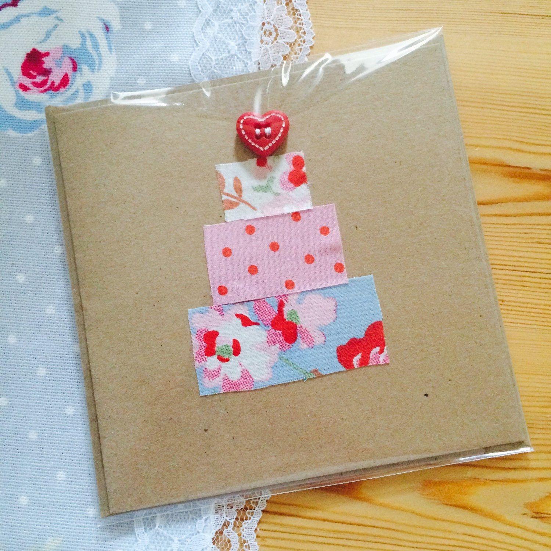 Handmade Wedding Cake Invitation Card Handmade Wedding