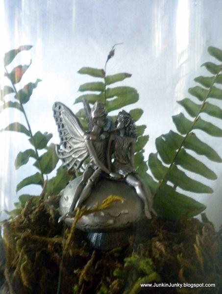 Fairies in a cloche