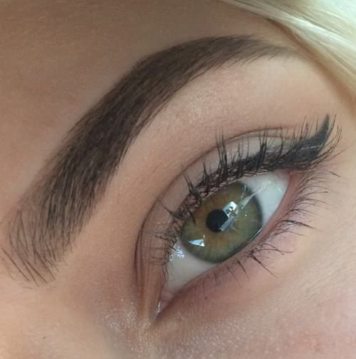 Thick brows
