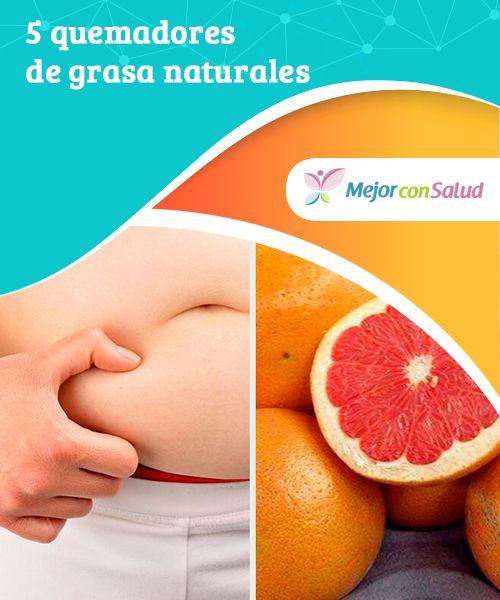 Quemadores naturales para bajar de peso