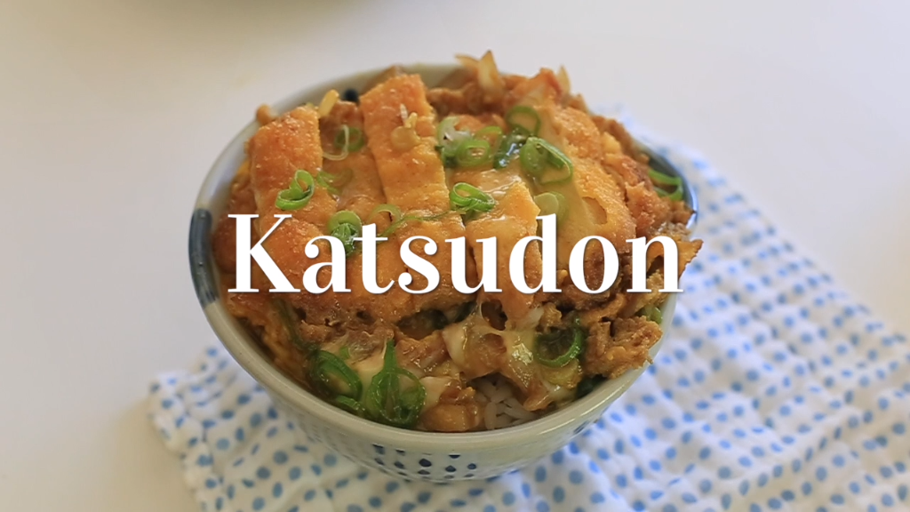 Eat Katsudon to conquer your obstacles like Japane