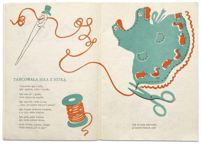 Illustration By Franciszka Themersonowa Title Tańcowała