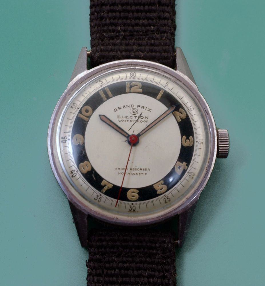 4f84168ab8a4 MILITARY DIAL ELECTION GRAND PRIX WATCH. ITEM  ELECTION MEN S MILITARY WATCH.  THIS IS