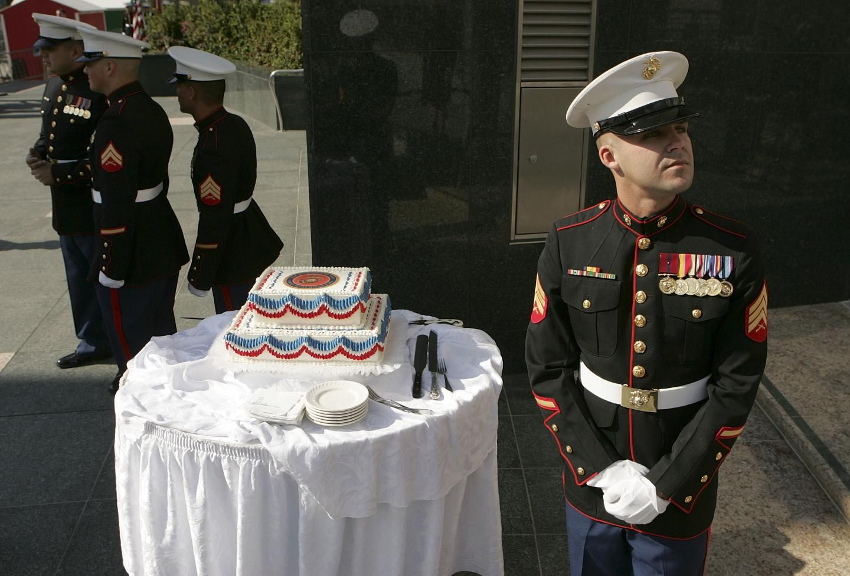 The Marine Corps celebrates its 243rd birthday Marine