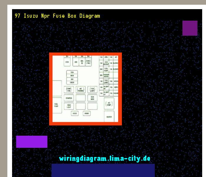 97 isuzu npr fuse box diagram wiring diagram 174521 amazing rh pinterest com