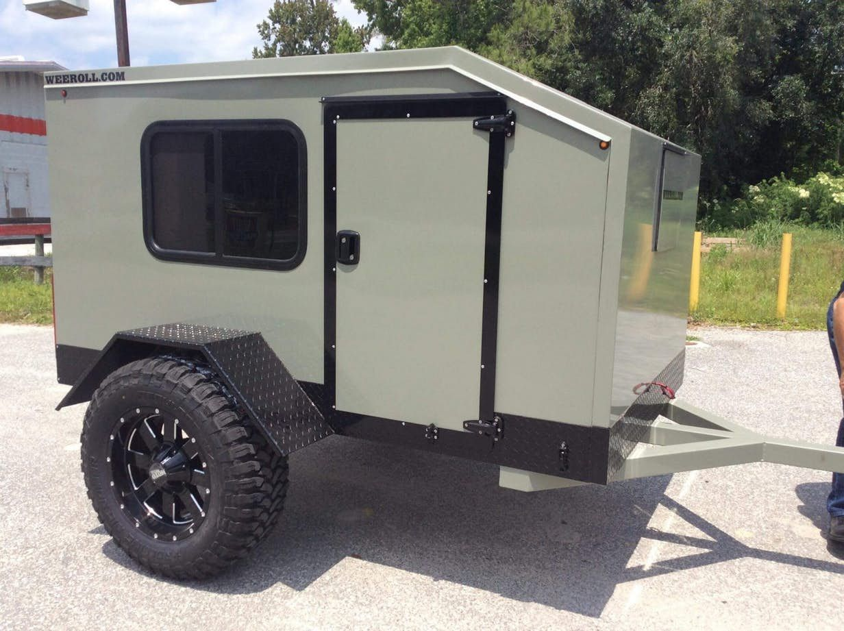 Light, simple Wrangler X trailer beckons you to build your