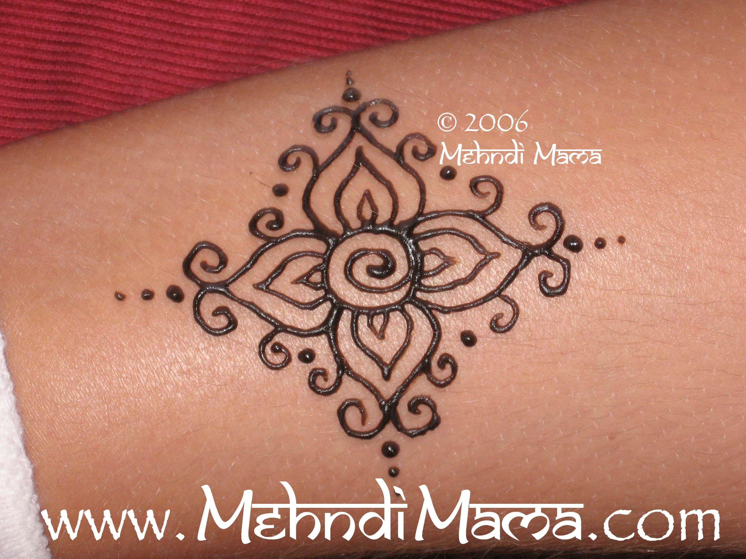 Easy Mehndi Patterns On Paper : The gallery for u e easy henna designs beginners ankle