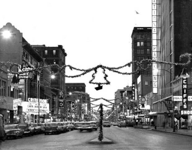 Downtown @ Christmas | Outdoor christmas, Christmas past ...
