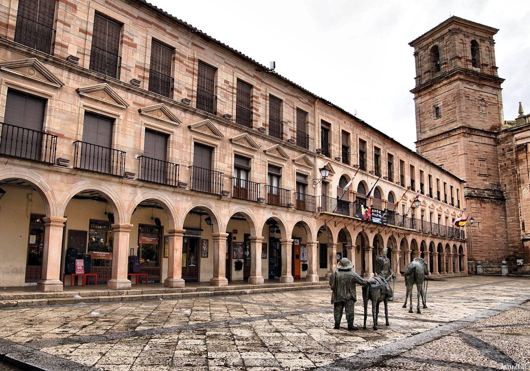Villanueva De Los Infantes Ciudad Real Spanelsko Spanelsko